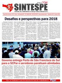 Jornal do SINTESPE – Dezembro 2017