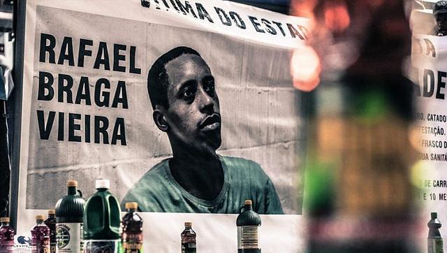 Símbolo da seletividade penal, caso Rafael Braga completa cinco anos