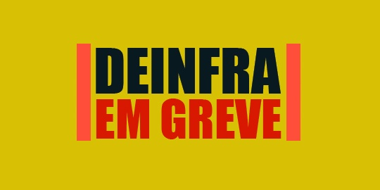 Por que os servidores do DEINFRA estão em greve?