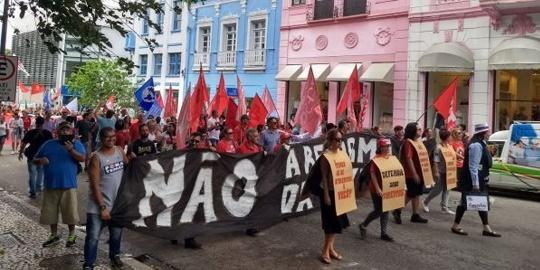 Santa Catarina se une à greve nacional contra a Reforma da Previdência