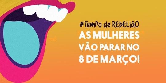 Programação do 8 de Março em Florianópolis 2018