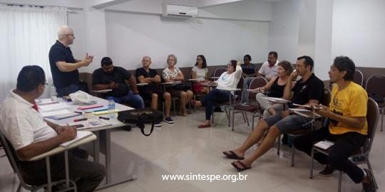 Diretoria do SINTESPE elabora planejamento para o ano de 2018