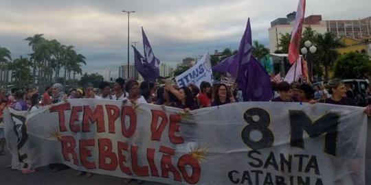Mulheres em marcha por mais direitos