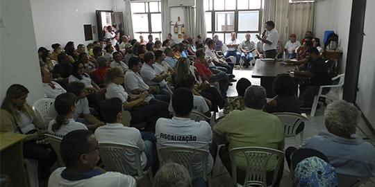 SINTESPE realiza assembleia geral e entrega pauta de reivindicações ao governo do Estado