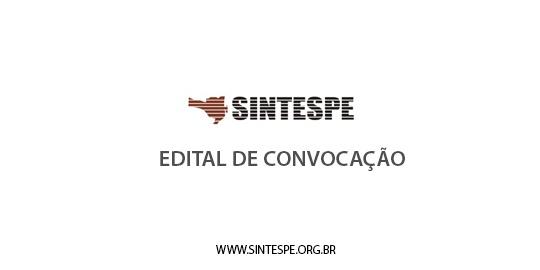 Edital de convocação: Assembleia Geral dia 13 de abril