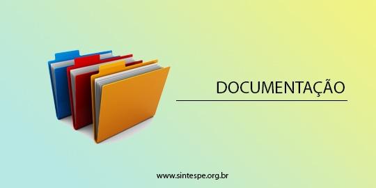 Atenção servidores da SES: envie sua documentação para o sindicato