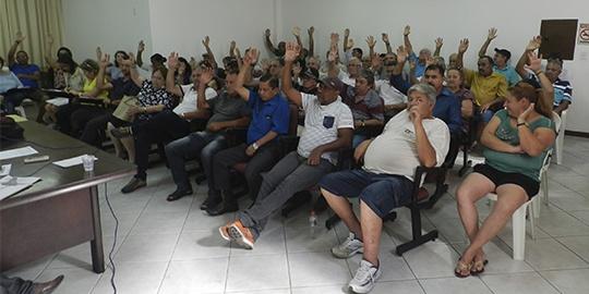 Assembleia Geral elege delegados para 3º Congresso Nacional da FENASEPE e determina luta pela reposição salarial