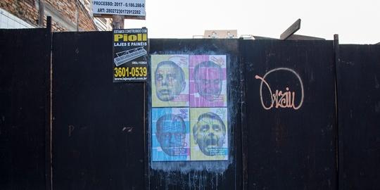 Resistência: série de cartazes relembra declarações polêmicas de políticos brasileiros