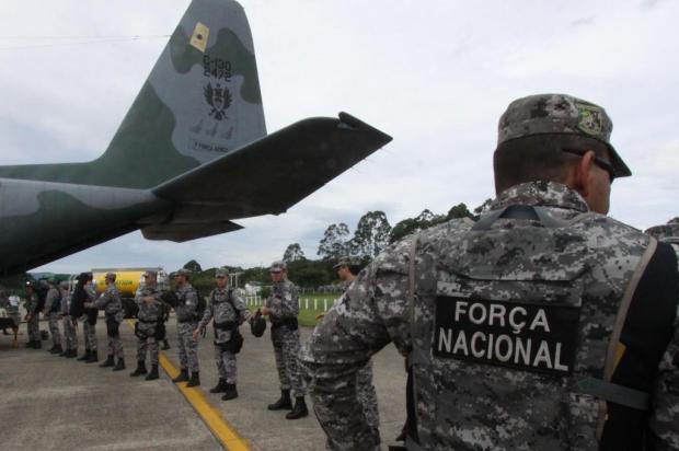 Tropas federais têm três missões em Santa Catarina