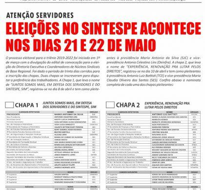 Jornal Eleições 2019-2022