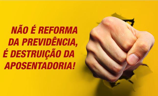 Artigo: Só a greve geral pode garantir a manutenção do direito a aposentadoria