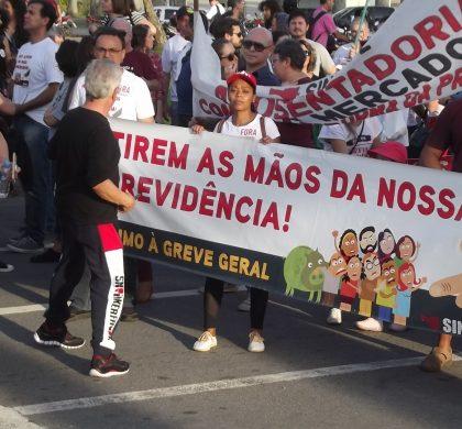 Sintespe participa da Greve Geral de 14 de junho