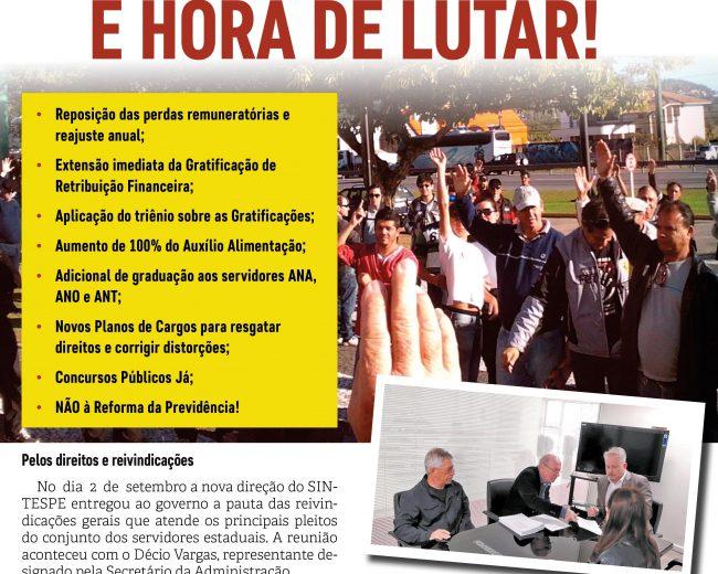 Jornal do SINTESPE – Setembro 2019