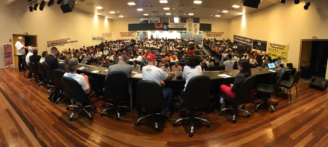 SINTESPE participa de Audiência Pública na ALESC
