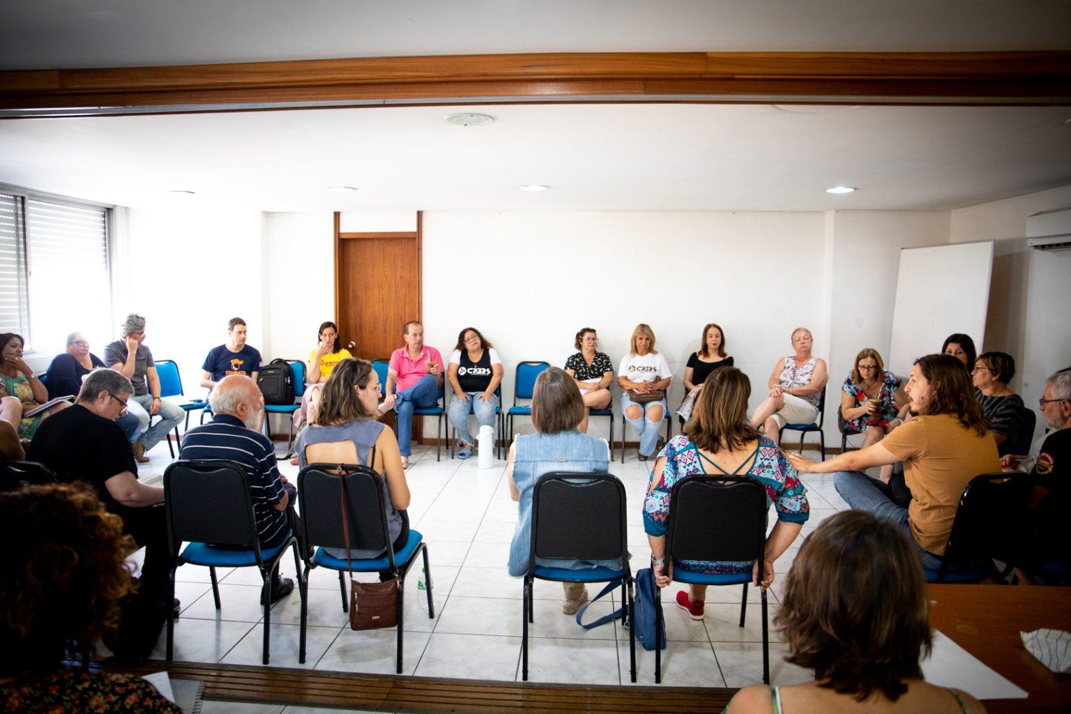 Mobilização dos servidores públicos pelo Brasil