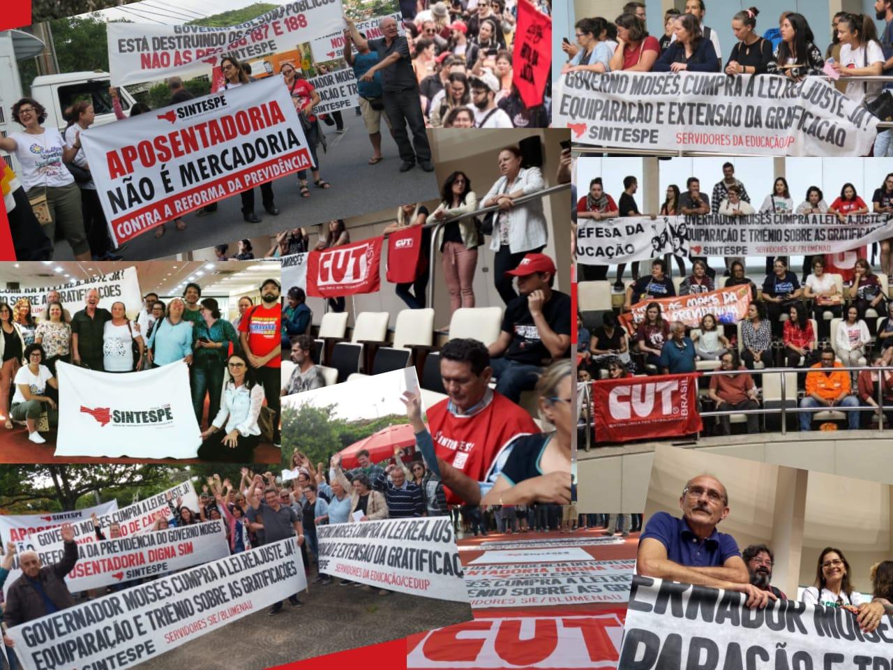 Sindicatos se reúnem com o Governador, nessa quarta-feira (11), às 16 horas, na sede do Governo