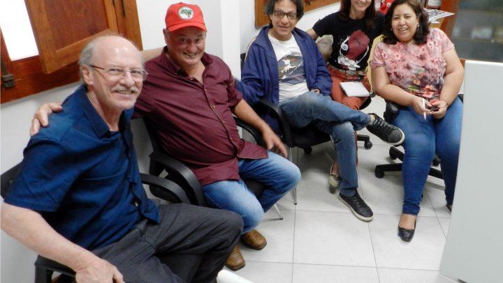 SINTESPE recebe a visita do Coordenador Estadual do MST