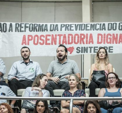 Servidores exigem retirada do regime de urgência da reforma da Previdência