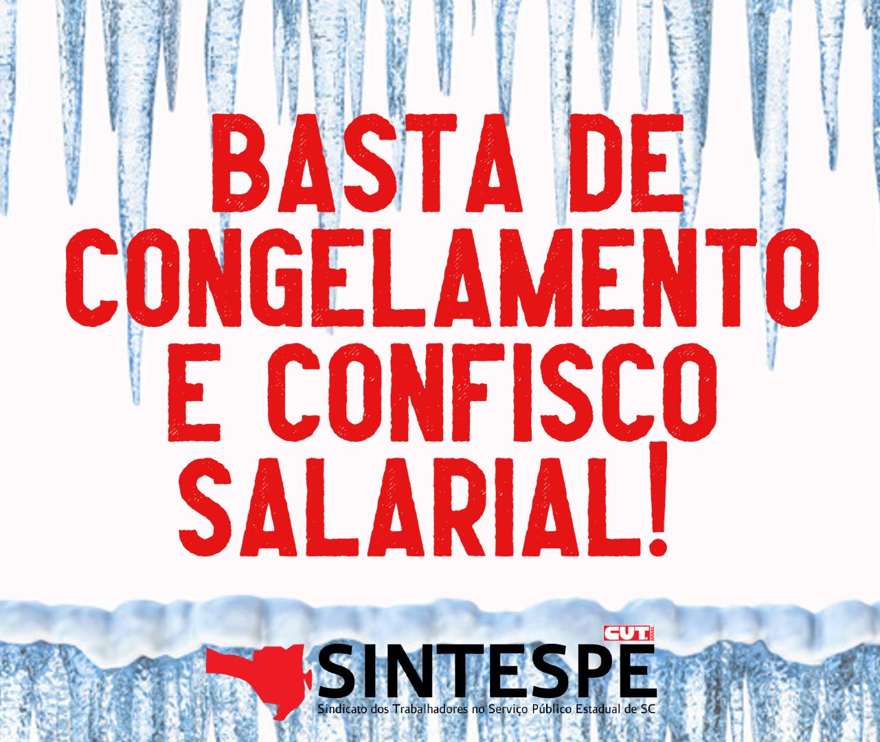 Nota oficial do Sintespe sobre o congelamento de salários