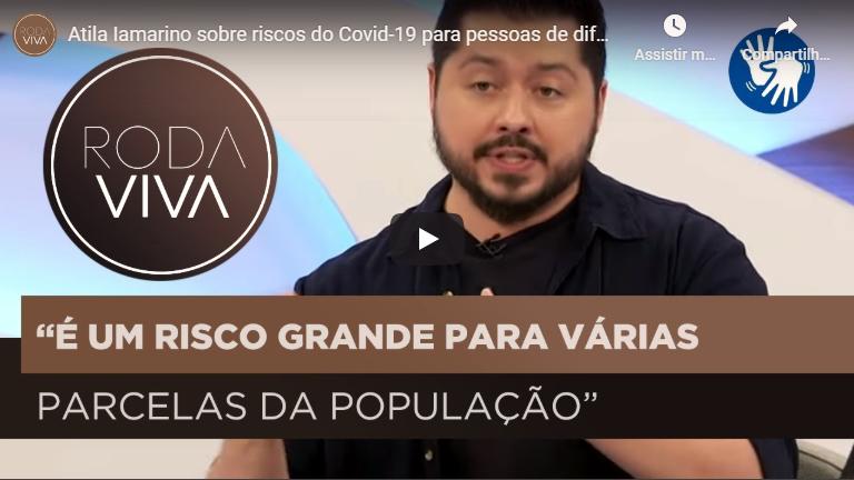 Atila Iamarino sobre embate entre presidente e governadores no controle do coronavírus