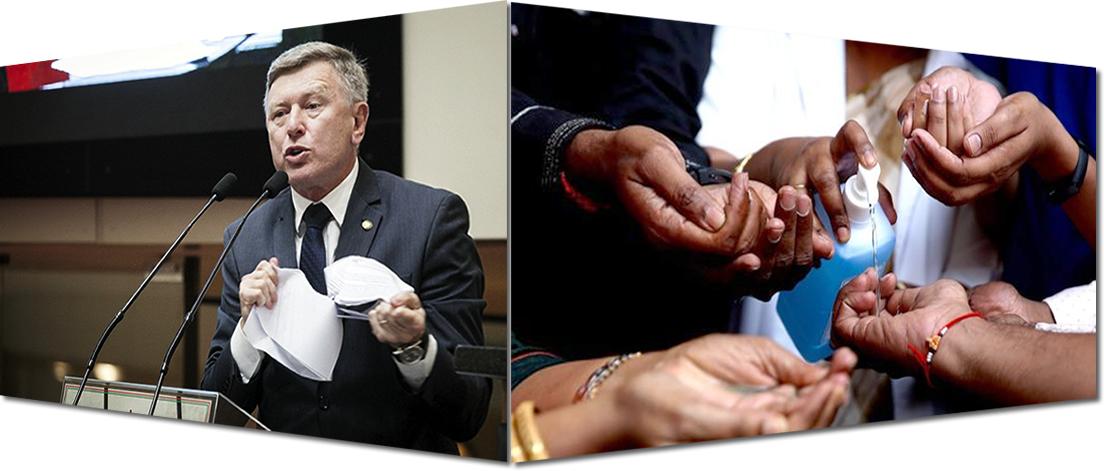 Quem é o doido e quem é o idiota? Com a palavra o governador.