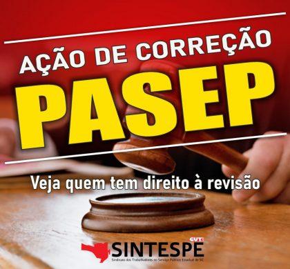 AÇÃO PARA CORREÇÃO DO SALDO DO PASEP/PIS