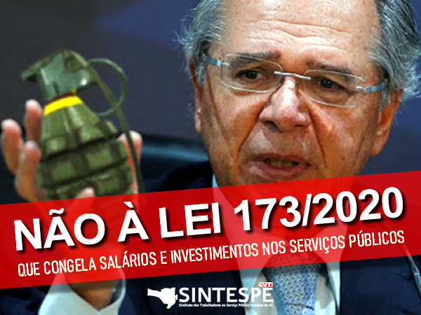 Contra o congelamento e a granada de Bolsonaro e Paulo Guedes