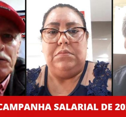 Live: LANÇAMENTO DA CAMPANHA SALARIAL 2021