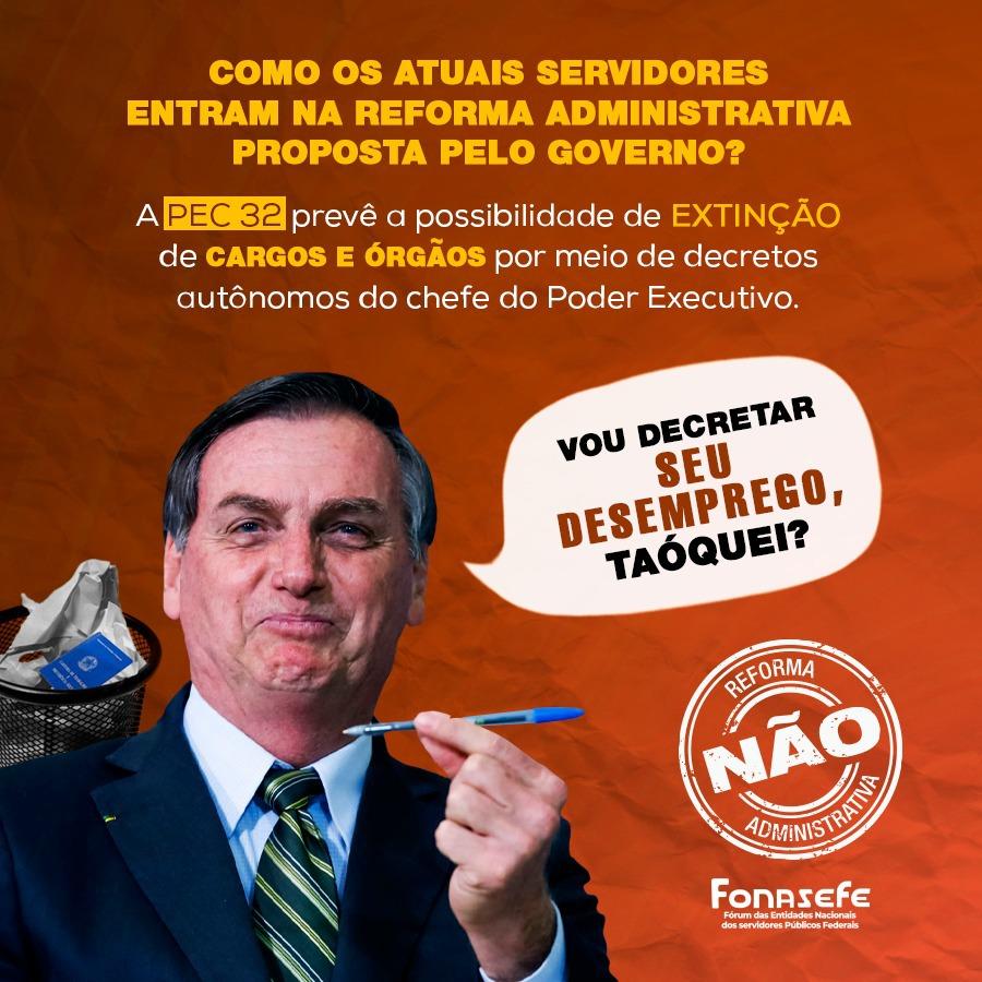 Mídia: Não à Reforma Administrativa!