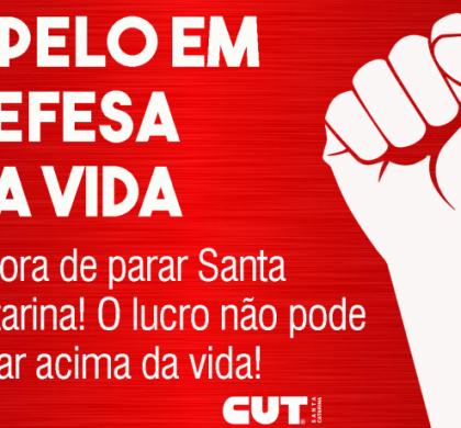 Movimento sindical de Santa Catarina apresenta resposta à carta patronal enviada ao Governador Moises