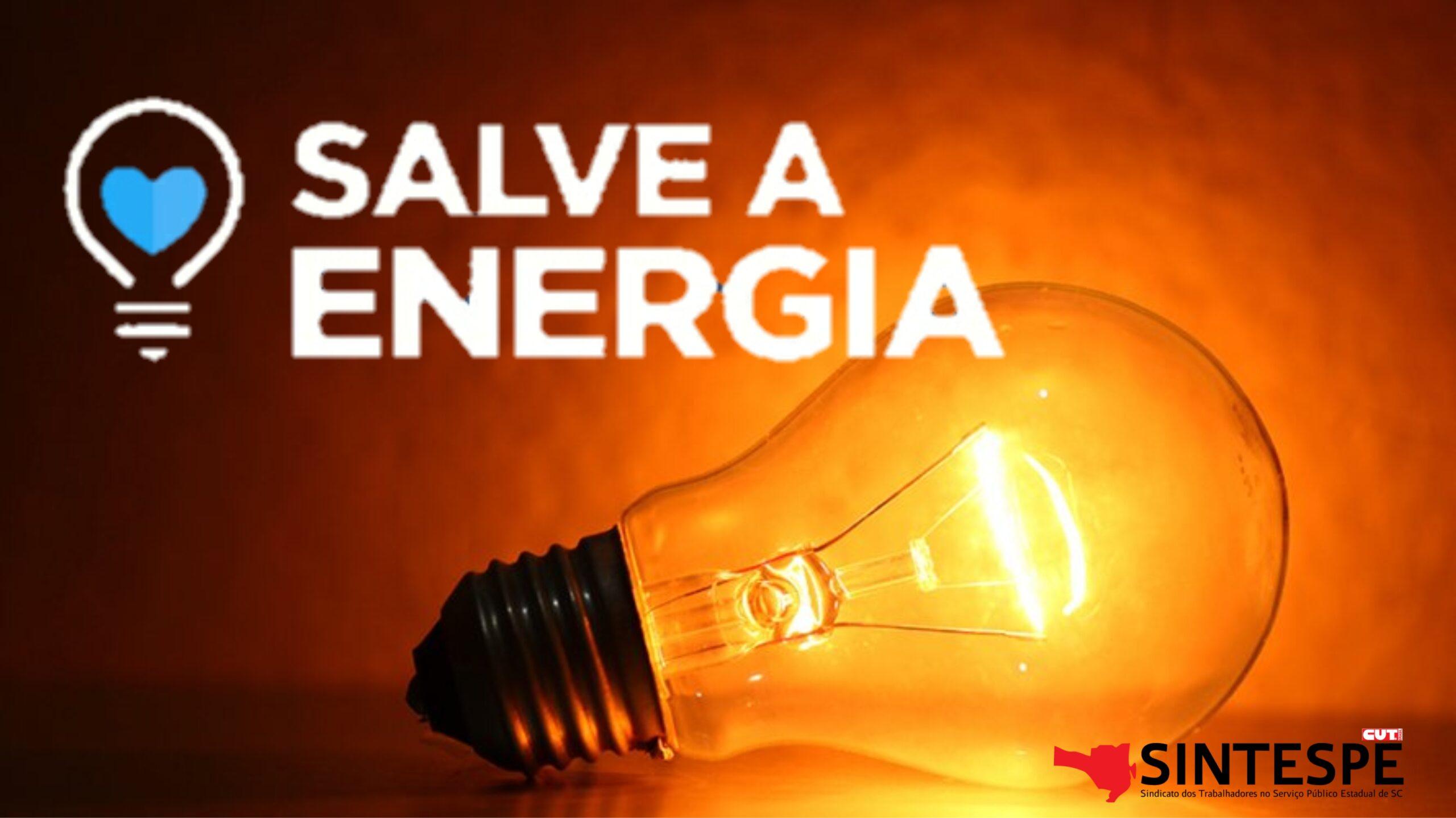 SALVE A ENERGIA