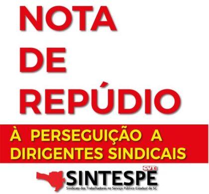 Nota do SINTESPE repudia a prática antissindical da atual Direção da Petrobrás