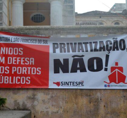 Moção virtual amplia Campanha em Defesa dos Portos Públicos de SC