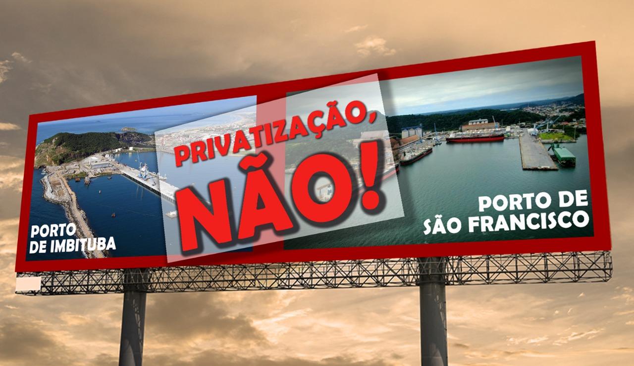 CONHEÇA A LUTA EM DEFESA DOS PORTOS PÚBLICOS DE IMBITUBA E SÃO FRANCISCO DO SUL