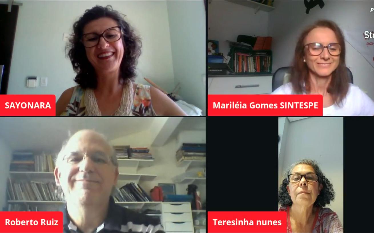 Live do Sintespe destaca o SUS e celebra o Dia Mundial da Saúde