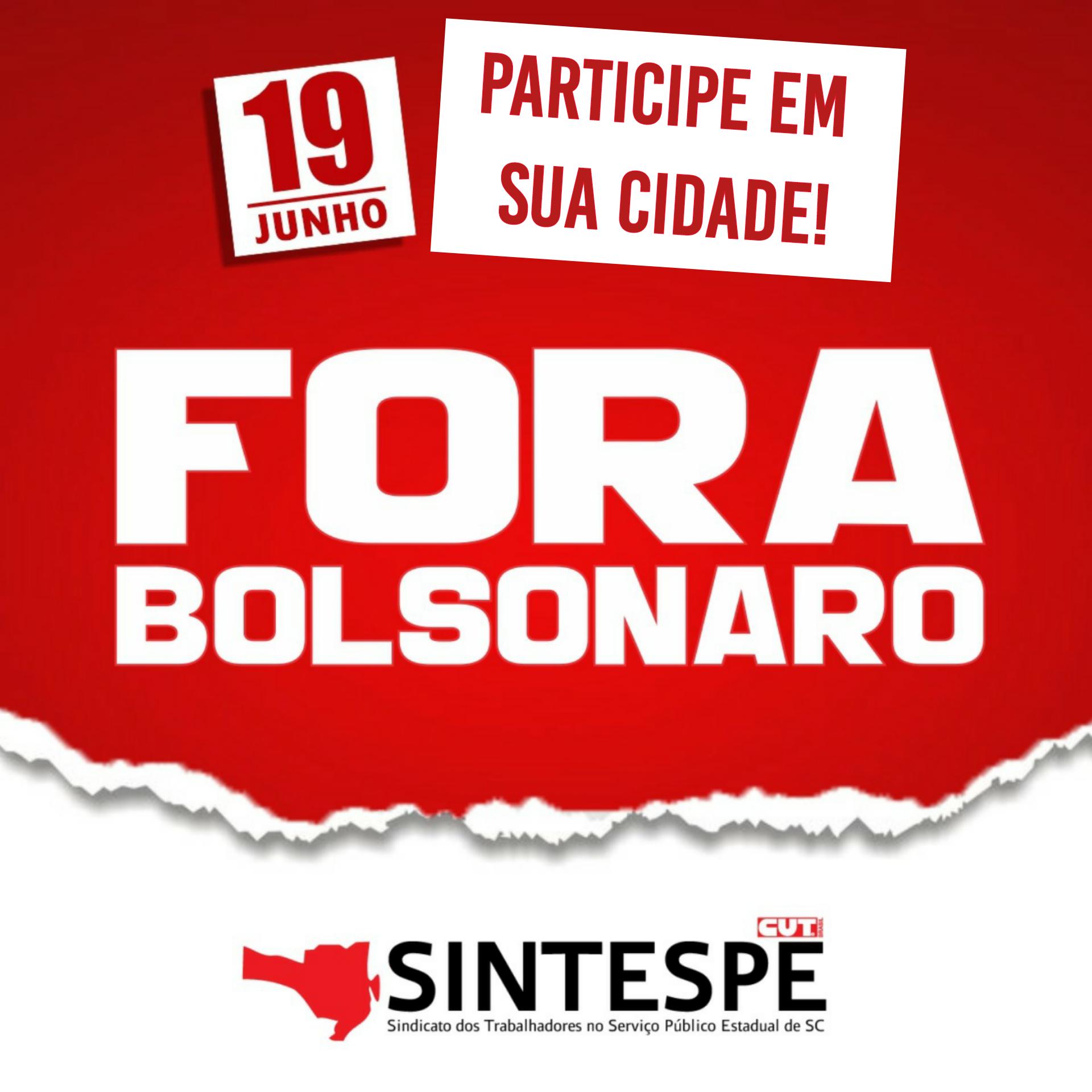 19 DE JUNHO: Hora do funcionalismo estadual dar seu grito!