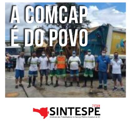 A COMCAP é do povo de Florianópolis!