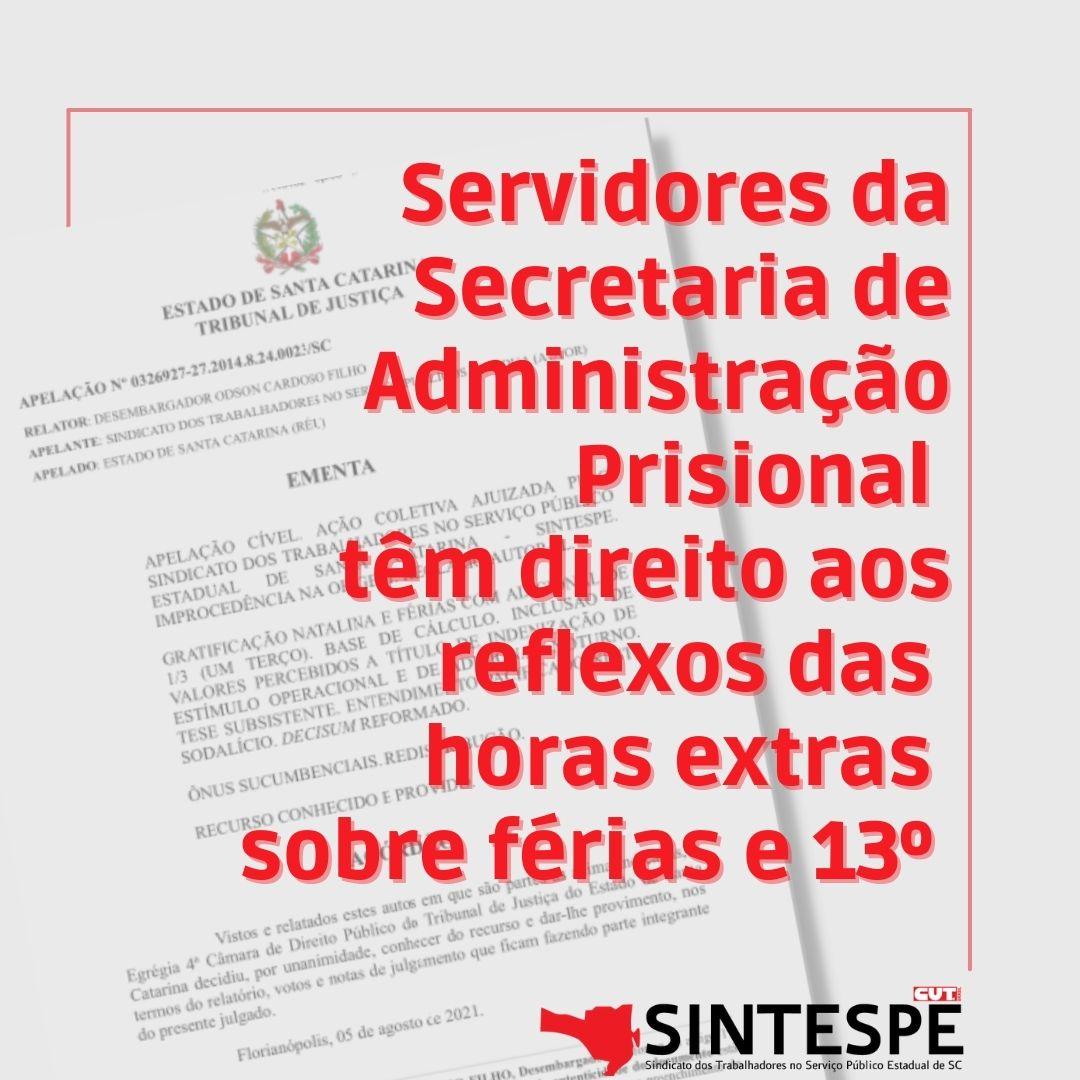 Ação Coletiva ajuizada pelo SINTESPE  garante atrasados a servidores da SAP