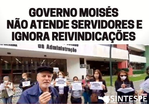 Governador Moisés indica um negociador que faz pouco caso da situação de arrocho vivida pelos servidores e impõe o confisco salarial aos aposentados e pensionistas a partir de novembro